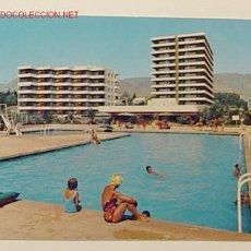 Postales: 1316 COSTA DEL SOL-TORREMOLINOS.LA NOGALERA.CIRCULADA. Lote 5166878