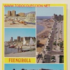 Postales: 72-FUENGIROLA-COSTA DEL SOL.CIRCULADA.. Lote 6100580