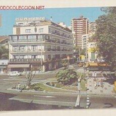 Postales: 62-TORREMOLINOS-PLAZA Y AVENIDA MANANTIALES.NO CIRCULADA.. Lote 720719