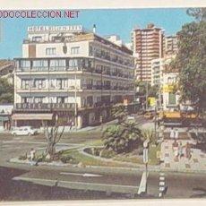 Postales: 62-TORREMOLINOS-PLAZA Y AVENIDA MANANTIALES.NO CIRCULADA.. Lote 720754