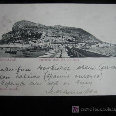 Postales: GIBRALTAR.-PANORAMA FROM THE OLD MOLE. Lote 3245897