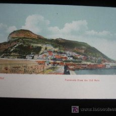 Postales: GIBRALTAR.-PANORAMA FROM THE OLD MOLE. Lote 3668217
