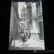 Postales: MALAGA .-TIPICO VENDEDOR DE PESCADO 1958. Lote 3265061
