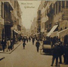 Postales: GIBRALTAR: MAIN STREET. Lote 3572775