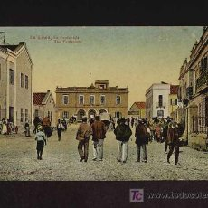Postales: POSTAL DE LA LINEA DE LA CONCEPCION (CADIZ): LA ESPLANADA (NUM.9) (ANIMADA). Lote 3747895