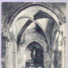 Postales: TARJETA POSTAL DE HUELVA. Nº5. CONVENTO DE LA RABIDA. IGLESIA PRESBITERO, S. XIV. FOT. DIEGO CALLE.. Lote 29127218