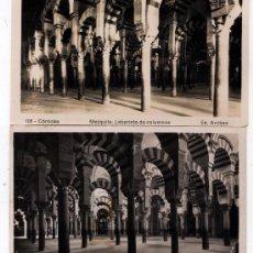 Postales: 2 - POSTALES DE MEZQUITA ( CÓRDOBA ) EDICION DE L. ROISIN Y ARRIBAS . Lote 3919180