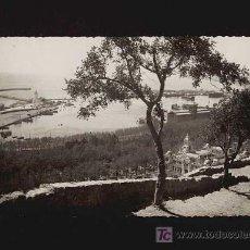 Postales: POSTAL DE MALAGA: PUERTO DESDE EL GIBRALFARO (ED.FOTO CORTÉS). Lote 10713015