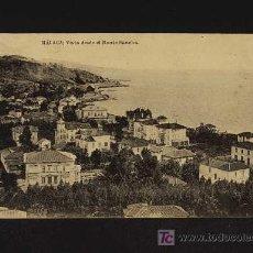 Postales: POSTAL DE MALAGA: VISTA DESDE EL MONTE SANCHA (FOTOTIP.HAUSER Y MENET). Lote 4101555
