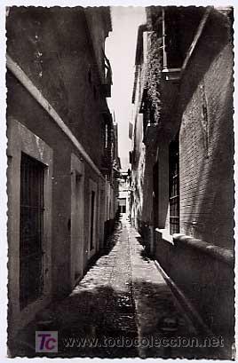 SEVILLA. CALLE DE JUSTINO DE NEVES. HELIOTIPIA ARTISTICA ESPAÑOLA. SIN CIRCULAR (Postales - España - Andalucia Moderna (desde 1.940))