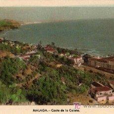 Postales: TARJETA POSTAL. MÁLAGA: COSTA DE LA CALETA . Lote 19102095