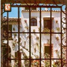 Postales: CORDOBA, PATIO CORDOBÉS. Lote 27161643