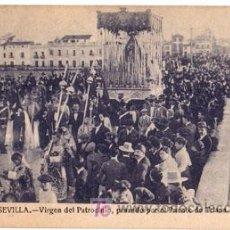 Postales: POSTAL SEMANA SANTA SEVILLA 513 - VIRGEN DEL PATROCINIO, PASANDO POR EL PUENTE DE TRIANA. Lote 7718546
