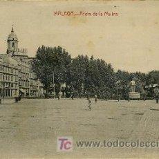 Postales: MÁLAGA. ACERA DE LA MARINA. ED. RAFAEL TOVAL. . Lote 4745238
