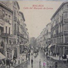Postales: MALAGA,CALLE LARIOS. Lote 10520992