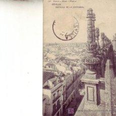 Postales: SEVILLA.DETALE DE LA CATEDRAL.CIRCULADA 1909.HAUSER Y MENET-MADRID.. Lote 23053058