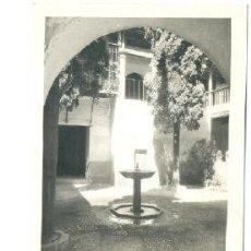 Postales: GRANADA .... ALHAMBRA ..... SELLO 20 CM. FRANCO FECHADA 1940. Lote 15398823