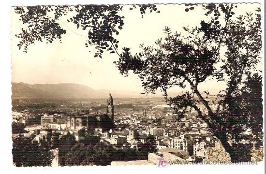 TARJETA POSTAL DE MALAGA. Nº 173. VISTA GENERAL. FOTO D. CORTES. - MALAGA. (Postales - España - Andalucía Antigua (hasta 1939))