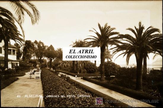 ALGECIRAS (CADIZ) - CLICHE 19 (Postales - España - Andalucía Antigua (hasta 1939))