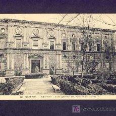 Postales: POSTAL DE GRANADA: ALHAMBRA, VISTA GENERAL DEL PALACIO DE CARLOS V (SEÑAN Y GONZALEZ NUM.106). Lote 5240467