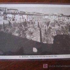 Postales: VISTA DE LOS EDIFICIOS ENCIMA DEL TAJO. Lote 5503307