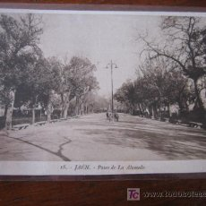 Postales: PASEO DE LA ALAMEDA. Lote 5503366