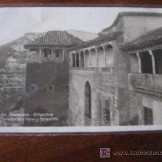 Postales: PEINADOR DE LA REINA Y GENERALIFE. Lote 5503435
