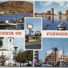 Postales: MALAGA. FUENGIROLA. COSTA DEL SOL. CIRCULADA. Lote 5652371