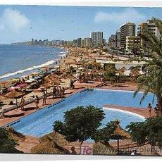 Postales: MALAGA. FUENGIROLA. VISTA PARCIAL Y PLAYA. ED. BAENA. CIRCULADA. Lote 5711974