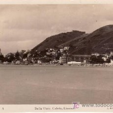 Postales: MALAGA. BELLA VISTA. CALETA,LIMONAR. FOTOGRAFIA DE L.ROISIN.POSTAL ESCRITA EN 1949. Lote 21936341