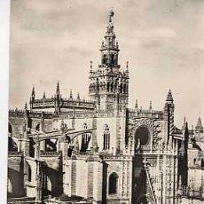 Postales: SEVILLA. CATEDRAL. HELIOTIPIA ARTISTICA ESPAÑOLA. AÑO 1959. SIN CIRCULAR. Lote 6129203