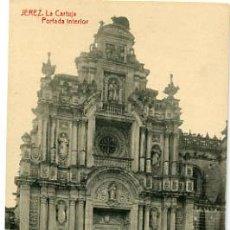 Postales: JEREZ, CADIZ, LA CARTUJA, PORTADA INTERIOR, P17419. Lote 6197434