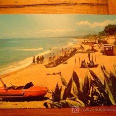 Postales: POSTAL MARBELLA.PLAYA. Lote 20129082