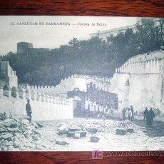 Postales: TARJETA POSTAL DE SANLUCAR DE BARRAMEDA - CADIZ - CUESTA DE BELEN Nº 17. Lote 6554476
