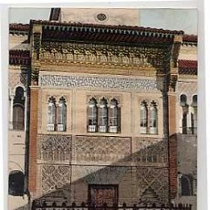 Cartoline: SEVILLA. ALCAZAR. FACHADA PRINCIPAL. PURGER & CO 2061. COL TOMAS SANZ 16. ANTERIOR A 1905. SIN CIRC.. Lote 6740972