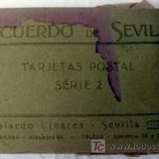 Postales: 25 POSTALES RECUERDO DE SEVILLA ABELARDO LINARES SERIE 2. Lote 20095474