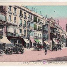 Postales: PLAZA DE LA CONSTITUCION. SEVILLA. NO CIRCULADA.. Lote 19608825
