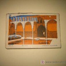 Postales: ALBUM CON 20 POSTALES DE GRANADA - SERIE B .-FOTOGRAFO L.ROSINI .-GRANADA.-Nº1. Lote 12435886