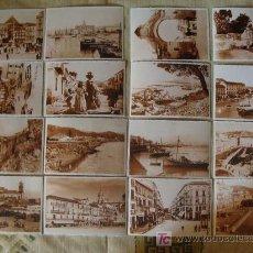 Postales: LOTE DE 16 POSTALES DE MÁLAGA DE PRIMEROS DE SIGLO XX - FINALES XIX. PERFECTAS. . Lote 7151886