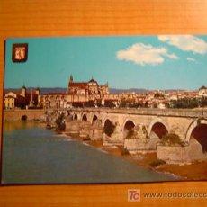 Postales: POSTAL CORDOBA PUENTE ROMANO AL FONDO VISTA PARCIAL SIN CIRCULAR. Lote 22732715