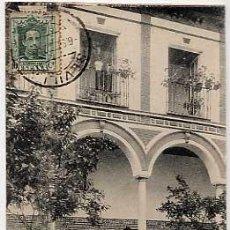 Cartes Postales: SEVILLA. PATIO ANDALUZ. COLEC. M. BARREIRO. FOTOTIPIA HAUSER Y MENET. CIRCULADA. Lote 7318499