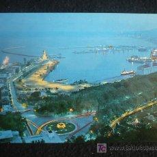Postales: MALAGA, VISTA GENERAL DEL PUERTO. GARCIA CARABELLA. SIN CIRCULAR. Lote 7477548