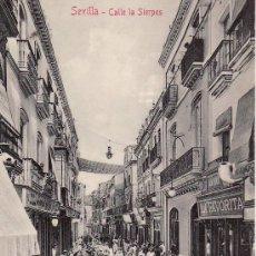 Postales: SEVILLA. CALLE LA SIERPES. NO CIRCULADA.COLECCION M.CHAPARTEGUY.. Lote 23937513