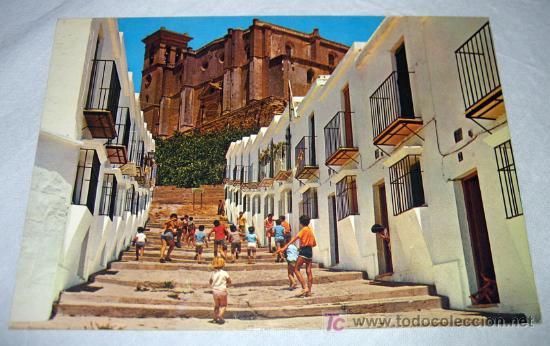 ANTIGUA Y PRECIOSA POSTAL DE OSUNA SEVILLA IGLESIA COLEGIATA - ESCRITA PERO NO CIRCULADA - (Postales - España - Andalucia Moderna (desde 1.940))