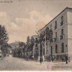 Postales: MALAGA. MALAGA. CALLE ALFONSO XIII.CIRCULADA.. Lote 24954235