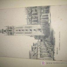 Postales: SEVILLA-LA GIRALDA- HAUSER-MENET. Lote 9884200