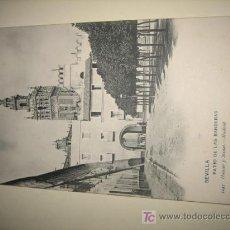 Postales: SEVILLA-PATIO DE LAS BANDERAS- HAUSER-MENET. Lote 7901132