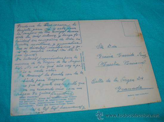 Postales: VISTA DEL DORSO DE LA POSTAL - Foto 2 - 27047405