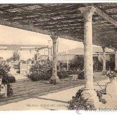 Postales: TARJETA POSTAL DE MALAGA: BAÑOS DEL CARMEN. FOTOTIPIA DE HAUSER Y MENET.. Lote 13172622