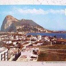 Postales: POSTAL DE LA LINEA (CADIZ) -Nº50- VISTA PARCIAL. AL FONDO EL PEÑON DE GIBRALTAR ( SIN CIRCULAR ). Lote 25996488